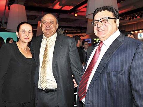 עופר נמרודי, יצחק וחיה תשובה, ועידת ישראל לעסקים דצמבר 2010