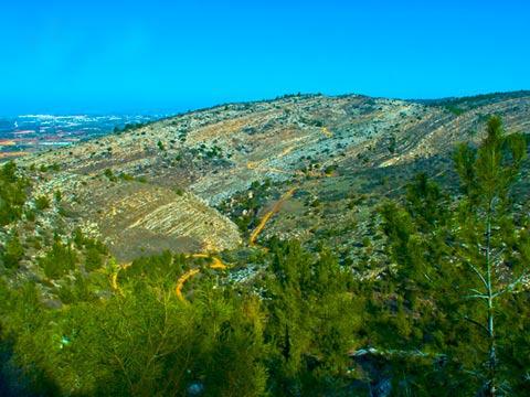 נוף ירושלים / צלם רפי קוץ