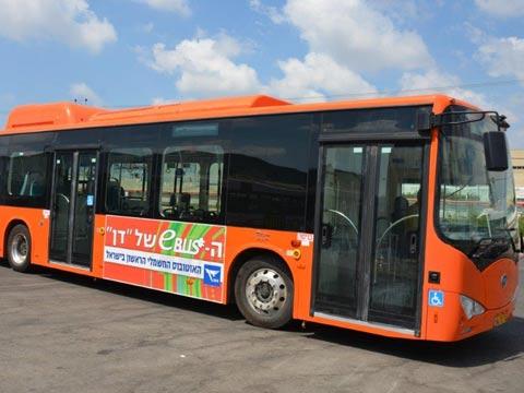 אוטובוס דן חשמלי/ צילום יחצ