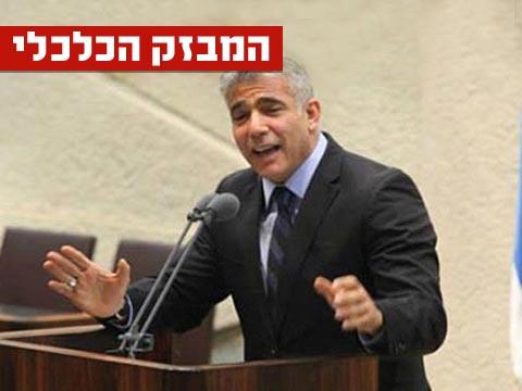 יאיר לפיד  מבזק / צילום: ערוץ הכנסת