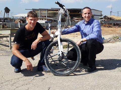 חברת softwheel גלגל אופניים / צילום: אוריאל הרמן