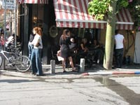 """בית קפה תל אביב / צילום: יח""""צ"""