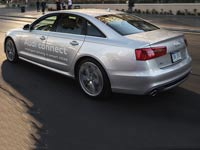 """מכונית אוטונומית אאודי קונקט / צילום: יח""""צ"""