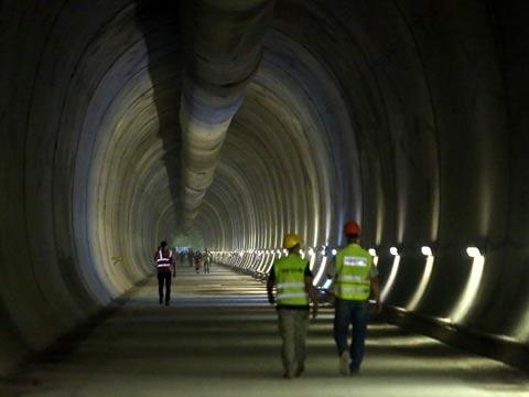 המנהרה הארוכה בישראל / צילום: רכבת ישראל
