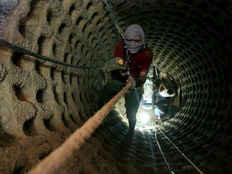 מנהרות של החמאס בעזה / צילום: וידאו