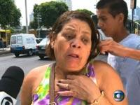 נשדדה במהלך ראיון לטלוויזיה בברזיל / צילום: וידאו