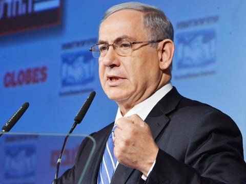 בנימין נתניהו ראש הממשלה, ועידת ישראל לעסקים 2014 / צילום: תמר מצפי