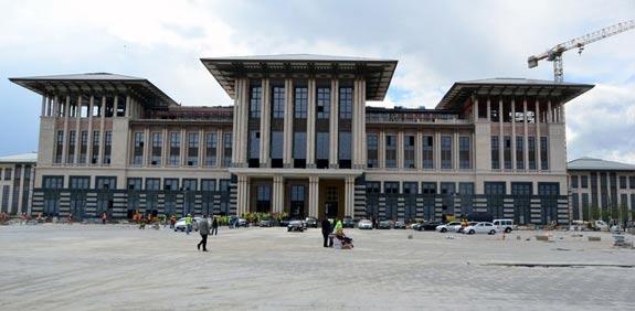 הארמון הלבן של ארדואן / צילום: מהוידאו