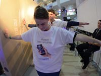 תורים לאייפון 6 סמארטפון / צילום: וידאו