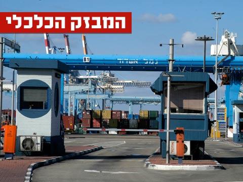 מבזק, נמל אשדוד / צילום: תמר מצפי