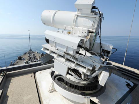 תותח לייזר הצי האמריקאי נשק /צילום: US NAVY