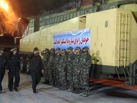 בסיס טילים תת קרקעי איראן / צילום: וידאו