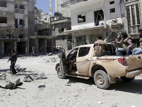 טבח בסוריה, דרוזים, מחנה פליטים / צילום: וואלה חדשות