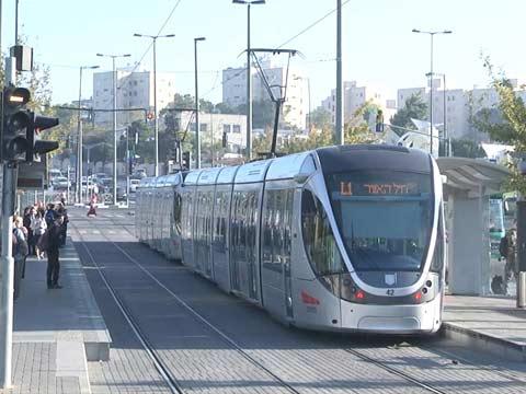 הרכבת הקלה בירושלים, שביתה / צילום: וואלה news