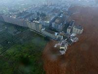 אסון בסין / צילום: מהוידאו