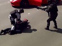 סרטון תדמית משטרת אבו דאבי פרארי 458, רכבי על / צילום: וידאו