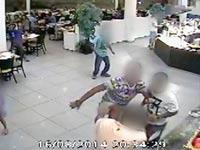 קטטה באילת / צילום: וידאו