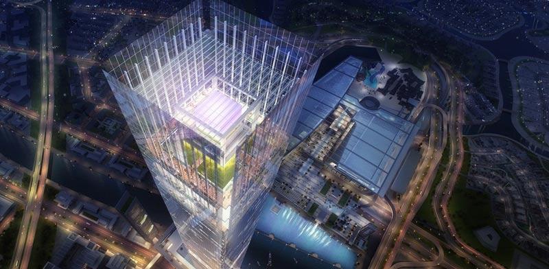"""מגדל המגורים הגבוה ביותר בעולם Meydan One דובאי / צילום: יח""""צ"""