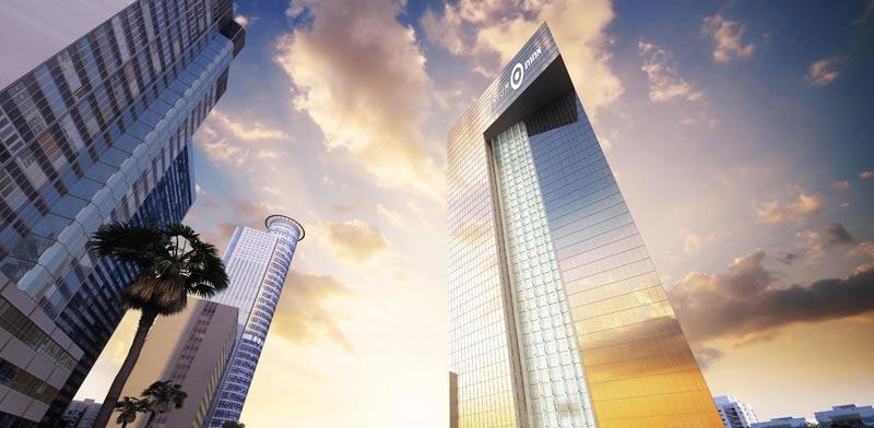 """מגדל אמות אטריום, בנייה ירוקה, מגדלי משרדים / צילום: יח""""צ"""