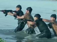 """דאע""""ש, קומנדו ימי, ISIS / צילום: וידאו"""