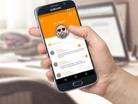 """אפליקציית Peanut דפדפן   המאפשר תיוג, דירוג והוספת תגובה בכל אתר אינטרנט / צילום: יח""""צ"""
