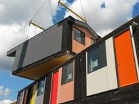 דיור בר השגה בלונדון, לגו  Y:Cube / צילום: וידאו