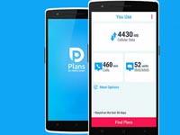 אפליקציית plans השוואת מחירי תוכניות לסלולאר/ צילום: יחצ