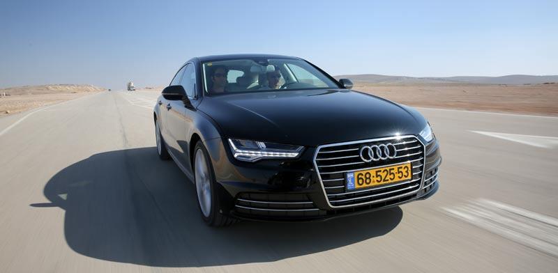 אאודי, Audi A6 A7 / צילום: מהוידאו