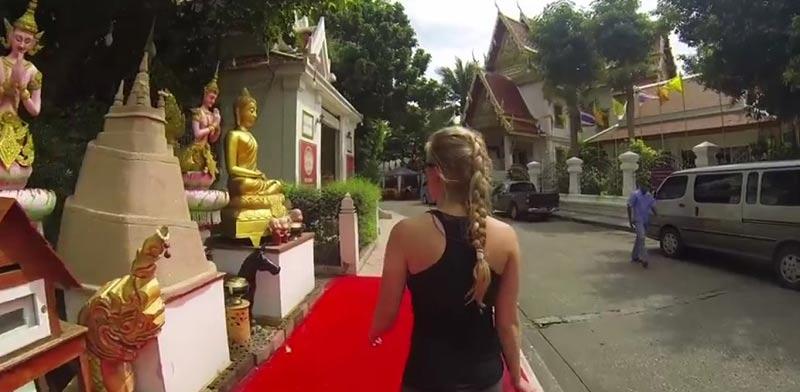 סרטון ויראלי טיול מסביב לעולם Johan Kaos My girlfriend took me backpacking... / צילום: וידאו