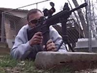 """צלף נשק ארה""""ב / צילום: וידאו"""
