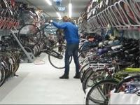 אופניים,חניון לאופניים, הולנד/ צילום: מתוך הוידאו