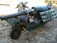 קטנוע ארטילריה, צרפת / צילום: וידאו