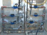 ברז מים, חיבור פיראטי לתשתית מים / צילום: וידאו