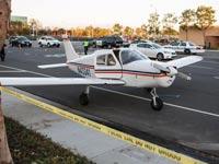 """מטוס קל נוחת באמצע כביש עירוני ארה""""ב / צילום: וידאו"""