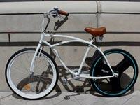"""גלגל חשמלי לאופניים רגילים Centinel Wheel  קיקסטארטר / צילום:יח""""צ"""