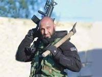 """אבו עזראל, """"מלאך המוות"""" שרודף את דאע""""ש / צילום: וידאו"""