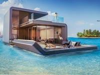 בית על המים בדובאי/ צילום: מתוך האתר kleindienst