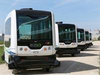 אוטובוס ללא נהג סינגפור, EZ10, כלי רכב אוטונומיים / צילום: EasyMile