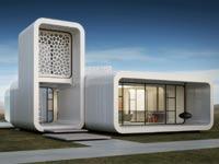בניין משרדים בתלת ממד, דובאי, סין, מדפסת תלת ממד / צילום: וידאו