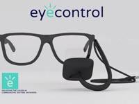 """משקפיים חכמים לחולי ALS Eyecontrol, אינדיגוגו / צילום: יח""""צ"""