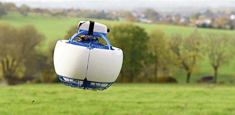 """רחפן רובוט אישי קיקסטארטר משלוחים  Fleye /צילום: יח""""צ"""
