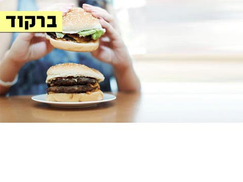 ברקוד, בשר, המבורגר / צילום: Shutterstock א.ס.א.פ קרייטיב