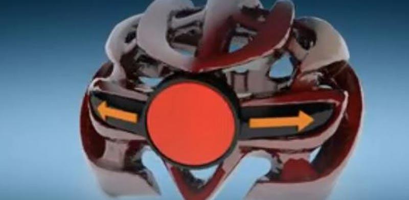 קסדה לאופנים עם פנסי איתות, סטארטאפ עמותת יוניסטרים/ צילום: הדמיה ulight