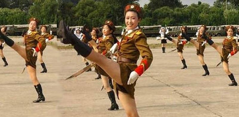 פלוגות העונג של צפון קוריאה, קים ג'ונג און / צילום: וידאו