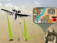 """להזעיק תגבורת צבא ארה""""ב, צבא, שדה קרב, מוניטור/  צילום: מהוידאו"""