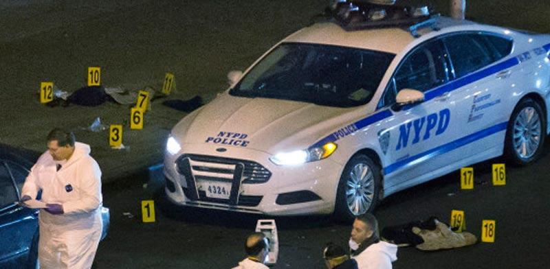 משטרת ניו יורק, ירי, פשע/ צילום: וידאו