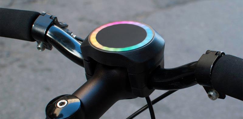 """פיתוח שיהפוך את האופניים שלכם לחכמים SmartHalo אינדיגוגו / צילום: יח""""צ"""