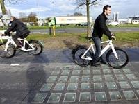 שביל אופניים סולאריים/ צילום: מתוך הוידאו