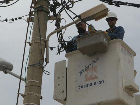 תקלות חשמל מתח גבוה / צילום: חברת החשמל