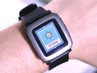 שעון חכם Pebble time / צילום: וידאו